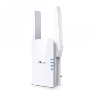 "RANGE EXTENDER TP-LINK wireless  1800Mbps, 1 port Gigabit,  2 antene externe, 2.4 / 5Ghz dual band, Wi-Fi 6, ""RE605X"" (include timbru verde 1.5 lei)0"