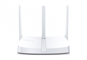 """ROUTER 4 PORTURI WIRELESS 300Mbps 2T2R, Mercusys, """"MW305R"""" (include timbru verde 0.5 lei) [1]"""