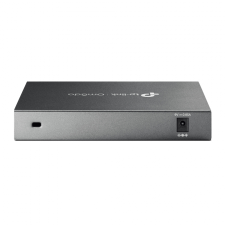 "ROUTER TP-LINK wired Gigabit, 1 Gigabit WAN + 1 Gigabit LAN + 3 Changeable Gigabit WAN/LAN Ports , tehnologie VPN ""ER605"" (include timbru verde 1.5 lei) [3]"