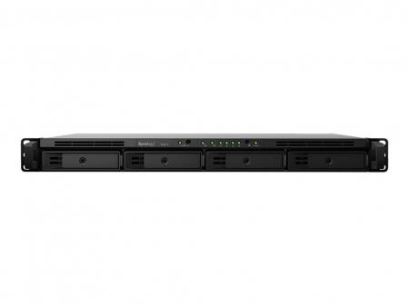 "RS819   NAS Home/Workgroup   4 x 2.5/3.5"" SATA HDD/SSD   USB 3.0 port x 2, eSATA x 1   Max Capacity (Internal HDD): Up to 56 TB (4 x 14TB)   CPU Quad Core 1.4 GHz Realtek RTD1296, 2 GB DDR4 RAM Memory [1]"