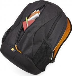 """RUCSAC CASE LOGIC notebook 15.6"""", poliester, 2 compartimente, buzunar interior tableta, buzunar frontal, 2 buzunare laterale, black, """"IBIR115ANTHRACITE""""/3202822 [3]"""