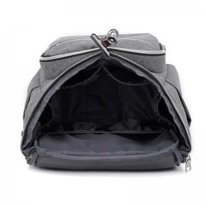 "RUCSAC SPACER Mammy bag , nylon,  1 compartiment, 2 buzunare frontale, 35x30x16cm, silver, ""SPB-Pumpkin"" [4]"
