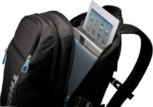 "RUCSAC THULE notebook 15"", nylon, 2 compartimente, buzunar interior tableta, 2 buzunare frontale, 2 buzunare laterale, buzunar dorsal, 21 litri, black, ""Crossover"" ""TCBP115K""/3201751 [5]"