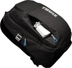 "RUCSAC THULE notebook 15"", nylon, 2 compartimente, buzunar interior tableta, 2 buzunare frontale, 2 buzunare laterale, buzunar dorsal, 21 litri, black, ""Crossover"" ""TCBP115K""/3201751 [4]"