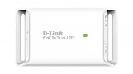 "SPLITTER PoE+ D-LINK 1 port Gigabit, compatibil IEEE 802.3at, \\""DPE-301GS\\""(include timbru verde 1.5 lei) [0]"