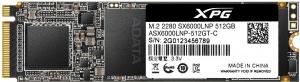 """SSD ADATA M.2 PCIe 512GB, Gen3 x4, XPG  SX6000 Lite 3D TLC NAND, R/W up to 1800/1200MB """"ASX6000LNP-512GT-C""""1"""