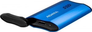 "SSD Extern ADATA SE800, 2.5"",  512Gb,  USB 3.2 Gen 2 Type-C, R/W up to 1.000 MB/s, IP68 dust & water proof, blue ""ASE800-512GU32G2-CBL""1"