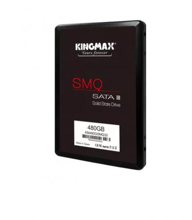 """SSD Kingmax, 480GB, 2.5 inch, S-ATA 3, 3D QLC Nand, R/W: 540 MB/s/450 MB/s MB/s, """"KM480GSMQ32"""" [0]"""