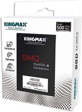 """SSD Kingmax, 480GB, 2.5 inch, S-ATA 3, 3D QLC Nand, R/W: 540 MB/s/450 MB/s MB/s, """"KM480GSMQ32"""" [2]"""