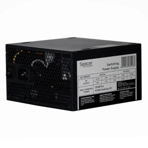 """SURSA Spacer 550 (350W for 550W Desktop PC), fan 120mm, 1x PCI-E (6), 4x S-ATA, 1x P8 (4+4), retail box, """"SP-GP-550"""" [0]"""