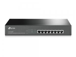 "SWITCH PoE TP-LINK  8 porturi Gigabit (4 PoE), IEEE 802.3af, carcasa metalica ""TL-SG1008MP"" (include timbru verde 0.5 lei)0"