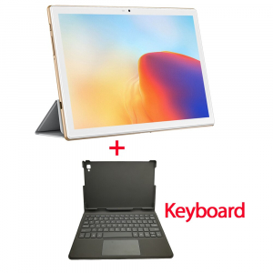 "Tableta Blackview TAB 8 cu Tastatura, 10.1"" IPS, FullHD, Octa-Core, 4GB RAM, 64GB, 4G, Dual Sim, 6580mAh, Camera 13MP, Face ID, Gold1"