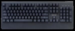 "TASTATURA MECANICA SPACER USB, switch-uri mecanice albastre, 50 mil. apasari, 104 taste, anti-ghosting 26 taste, anti-spill, black, ""SPKB-MK-01"" (include timbru verde 0.5 lei)3"
