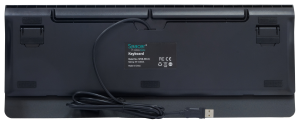 "TASTATURA MECANICA SPACER USB, switch-uri mecanice albastre, 50 mil. apasari, 104 taste, anti-ghosting 26 taste, anti-spill, black, ""SPKB-MK-01"" (include timbru verde 0.5 lei)4"
