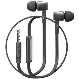TCL In-ear Wired Headset, Strong Bass, Frequency of response: 10-22K, Sensitivity: 107 dB, Driver Size: 8.6mm, Impedence: 16 Ohm, Acoustic system: closed, Max power input: 20mW, Connectivity type: 3.51