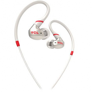 TCL In-ear Wired Sport Headset, IPX4, Frequency of response: 10-22K, Sensitivity: 100 dB, Driver Size: 8.6mm, Impedence: 16 Ohm, Acoustic system: closed, Max power input: 20mW, Connectivity type: 3.5m0