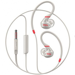 TCL In-ear Wired Sport Headset, IPX4, Frequency of response: 10-22K, Sensitivity: 100 dB, Driver Size: 8.6mm, Impedence: 16 Ohm, Acoustic system: closed, Max power input: 20mW, Connectivity type: 3.5m1