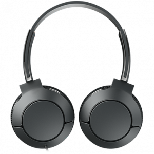 TCL On-Ear Wired Headset, Strong BASS, flat fold, Frequency of response: 10-22K, Sensitivity: 102 dB, Driver Size: 32mm, Impedence: 32 Ohm, Acoustic system: closed, Max power input: 30mW, Connectivity1