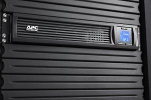 UPS APC Smart-UPS C line-interactive / sinusoidala 1000VA / 600W 4conectori C13 rackabil 2U, baterie APCRBC124,cu SmartConect optional extinderegarantie cu 1/3 ani (WBEXTWAR1YR-SP-02/WBEXTWAR3YR-SP-022