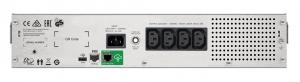 UPS APC Smart-UPS C line-interactive / sinusoidala 1000VA / 600W 4conectori C13 rackabil 2U, baterie APCRBC124,cu SmartConect optional extinderegarantie cu 1/3 ani (WBEXTWAR1YR-SP-02/WBEXTWAR3YR-SP-021