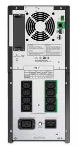 UPS APC Smart-UPS SMT line-interactive / sinusoidala 2200VA / 1980W 8conectori C13 1 conectori C19, baterie RBC55, optional extinder egarantie cu 1/3 ani (WBEXTWAR1YR-SP-03/WBEXTWAR3YR-SP-03)1