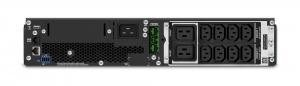 UPS APC Smart-UPS SRT online dubla-conversie 2200VA / 1980W 8 conectori C13 2 conectori C19 extended runtime, baterie RBC31rackabil2