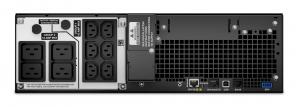 UPS APC Smart-UPS SRT online dubla-conversie 5000VA / 4500W 6 conectoriC13 4 conectori C19 extended runtime rackabil, baterie APCRBC 140,optional extindere garantie cu 1/3 ani (WBEXTWAR1YR-SP-05/WBEXT2
