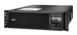 UPS APC Smart-UPS SRT online dubla-conversie 5000VA / 4500W 6 conectoriC13 4 conectori C19 extended runtime rackabil, baterie APCRBC 140,optional extindere garantie cu 1/3 ani (WBEXTWAR1YR-SP-05/WBEXT0