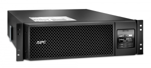 UPS APC Smart-UPS SRT online dubla-conversie 5000VA / 4500W 6 conectoriC13 4 conectori C19 extended runtime rackabil, baterie APCRBC 140,optional extindere garantie cu 1/3 ani (WBEXTWAR1YR-SP-05/WBEXT1