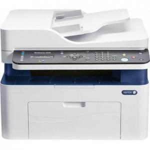 Multifunctional laser mono Workcentre 3025, Print/ Copy/ Scan/ Fax, Viteza: 20 ppm, Rezolutie: 600X600 dpi, Procesor 600 MHz, Memorie 128 MB, Limbaje de printare: GDI, Interfata: USB, Ethernet, Wirele0