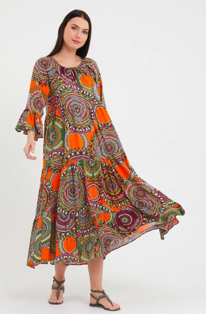 rochie de vara din vascoza
