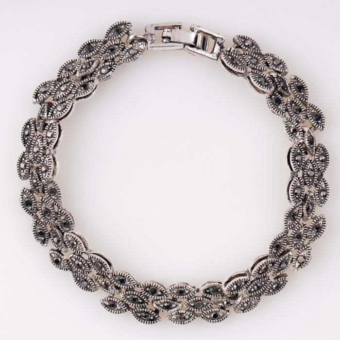 Bratara metalica argintie [0]