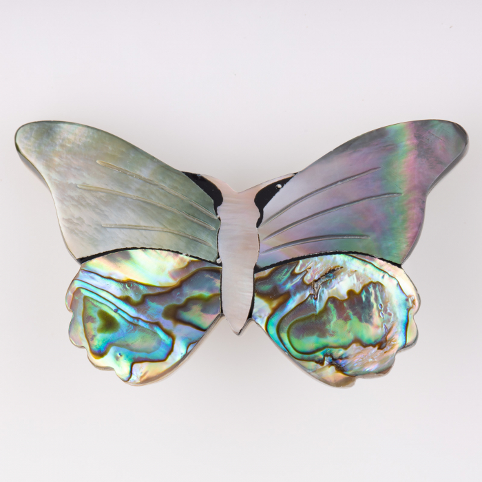 Brosa sidef fluture [0]