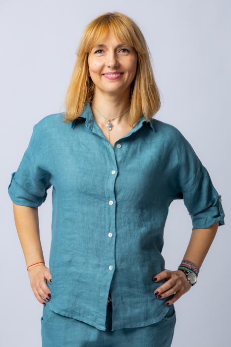 Camasa albastru jeans lejera, din in [0]