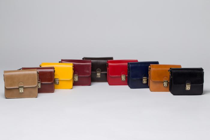 Pachet cadou geanta si curea din piele naturala, manusi -1 2