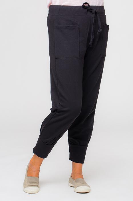 Pantaloni negri casual sport 1