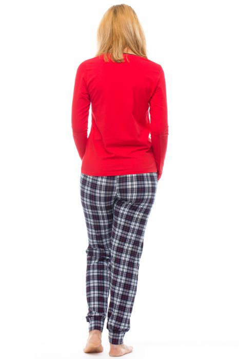 Pijama bumbac doua piese `vacuta vesela` [2]