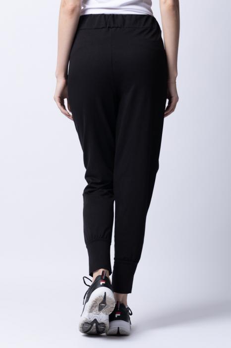 Pantaloni negri moderni cu design deosebit [2]