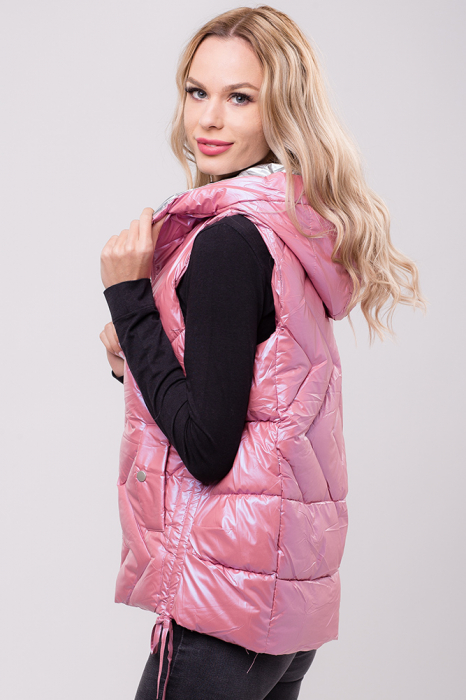 Vesta roz cu interior gri metalic [1]