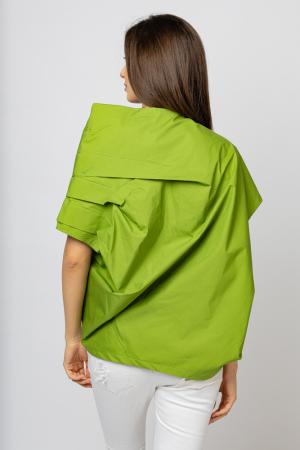 Bluza verde asimetrica, extravaganta [1]
