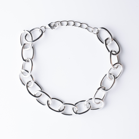 Colier din zale argintii [0]