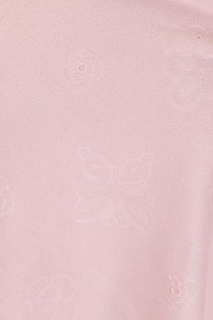 Esarfa cashmere dreptunghiulara roz cu modele embosate [1]