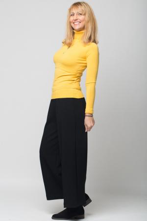 Pantaloni lungi negri, evazati1
