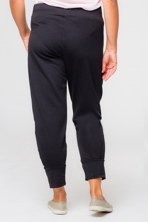 Pantaloni negri casual sport2
