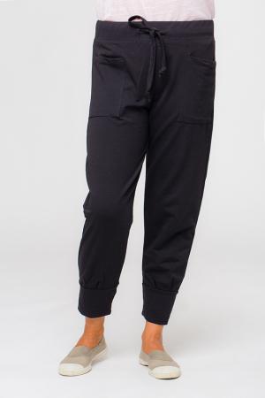 Pantaloni negri casual sport0
