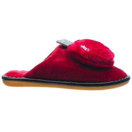 Papuci de casa bordo decoratiune Apple0