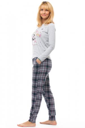 Pijama din bumbac doua piese `familie pinguini` [1]