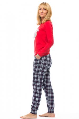 Pijama bumbac doua piese `vacuta vesela` [1]