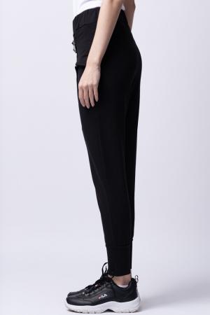 Pantaloni negri moderni cu design deosebit [1]