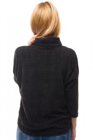Pulover negru cu guler inalt [2]